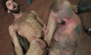 RagingStallion Big Dick Muscle Bear Fucks Hot Hairy Stranger