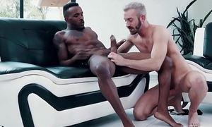 Black and white gay swimsuit models fuck