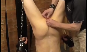 bound slave near cane &amp_ candle
