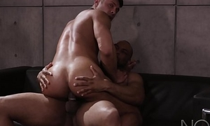 NoirMale Seth Santoro Nails Interview with Dangled DILF Ray Diesel