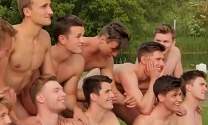 naked boys open-air
