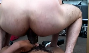 Amateur straighty rectally fucked unconnected with deathly stud