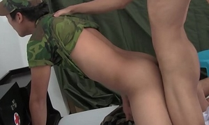 Dr Albert Fucks Twink Soldier Raw