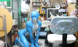 Digitmon Veemon Boy / Body Paint / 19 Years Old Precedent-setting Charm Cosplay #1