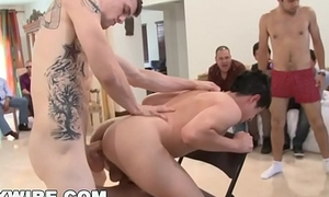 GAYWIRE - This Sausage Party Quickly Gets Out Of Hand! Dicks Everywhere.