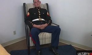 MARINE: ROUND TWO, JACKING OFF IN MY DRESS BLUES