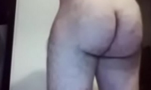 Huge Round Hairy Ass on Muscular Guy