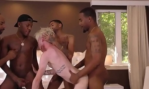 Twink rammed by black man