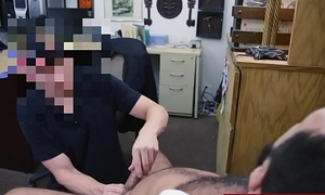 Unhappy customer given ass to fuck and a blowjob to relax