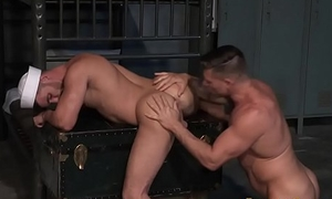 Ripped ass anal drilling sailor