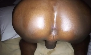 Ladyboy Jina Rough Bareback Action
