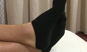 Feet fetish jock makes u relax together with go deep into your fantasy
