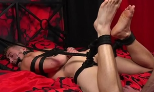 Dominated submissive enjoys edging