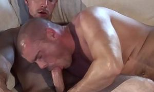 Ripped euro stud doggy position fucked by brit