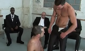 Young manhood receives cock blasting throughout his ass in homo anal